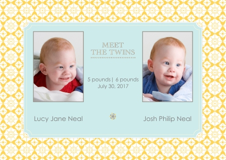 Twins Baby Announcements Baby and Kids – Walgreens Birth Announcements