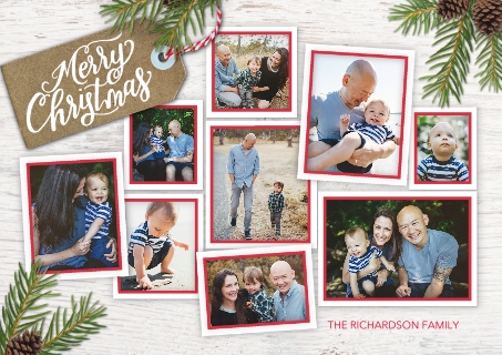 Set of 20 Flat Glossy 5x7 Photo Cards