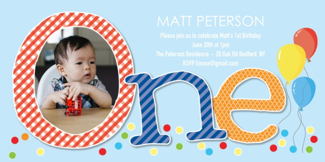 Invitations and Announcements – Baby Mickey Invitations Birthday