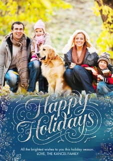 Personalized Photo Christmas Cards