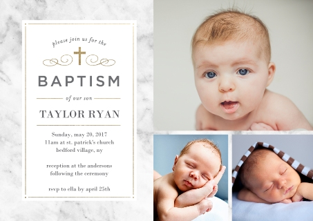 Christening and Baptism Baby and Kids – Walgreens Birth Announcements