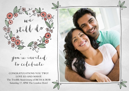 Anniversary invitations invitations and announcements walgreens