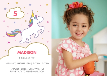 birthday party invitations custom photo cards walgreens photo