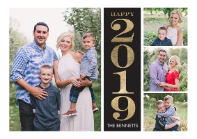 Set of 20 Flat Photo Cards, 5x7