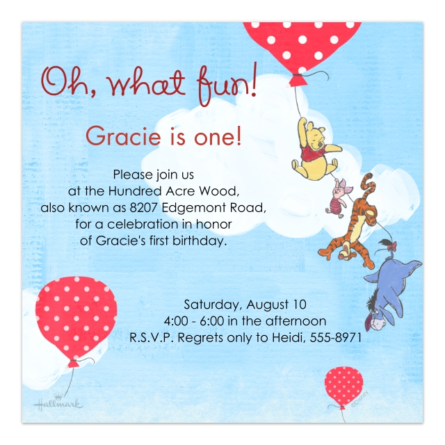 1st Birthday Invitations Baby And Kids Walgreens Photo