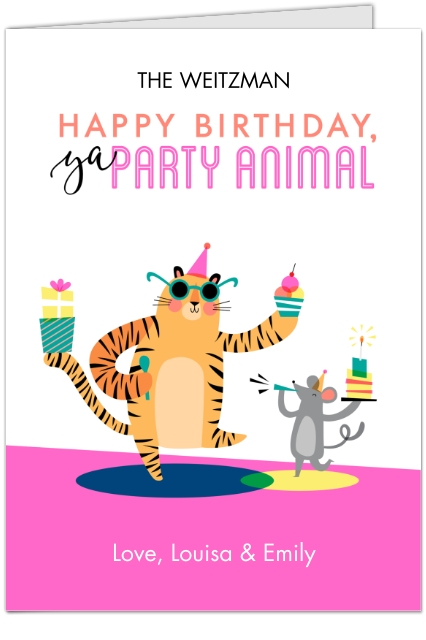 Birthday greeting cards birthday cards walgreens photo happy birthday party animal m4hsunfo