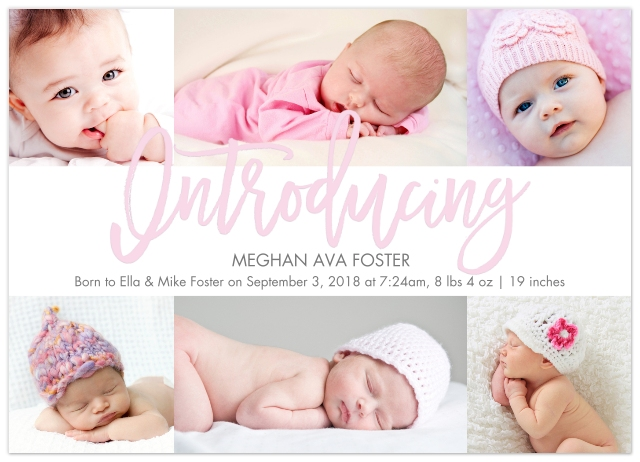 Baby Announcements Baby And Kids Walgreens Photo