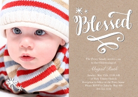 Baptism Invitations Invitations And Announcements Walgreens Photo