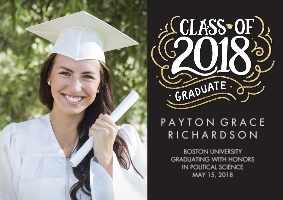 Graduation Announcements Custom Photo Cards Walgreens Photo