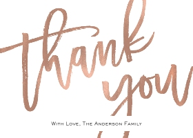 Thank You Cards Thank You And Stationery Walgreens Photo