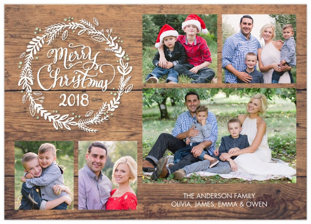 Christmas photo cards holiday cards walgreens photo set of 20 flat photo cards m4hsunfo