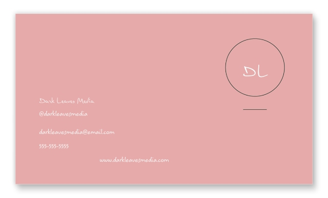 Set of 40, 2x3.5 Business Cards - Double Sided ...