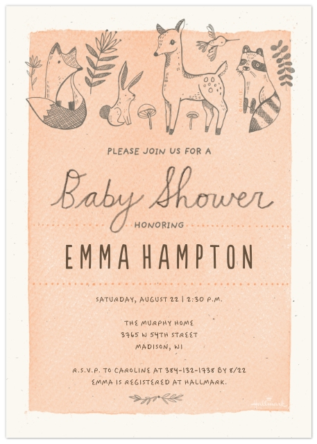 6f56c9d96 Baby Shower Invitations. Set of 20 Flat Photo Cards