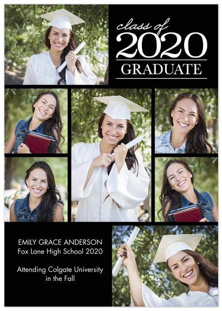 Graduation Announcements Custom Photo