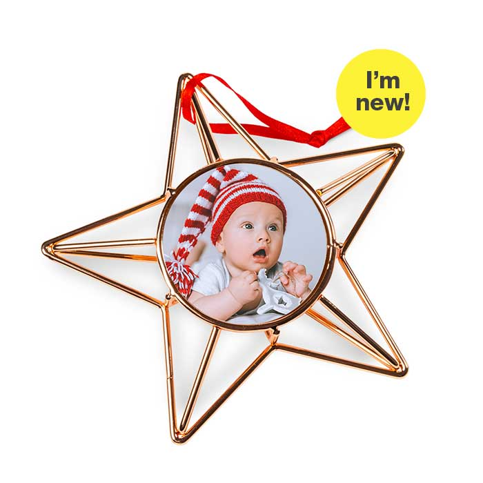 I'm New! Copperwire Star Ornament
