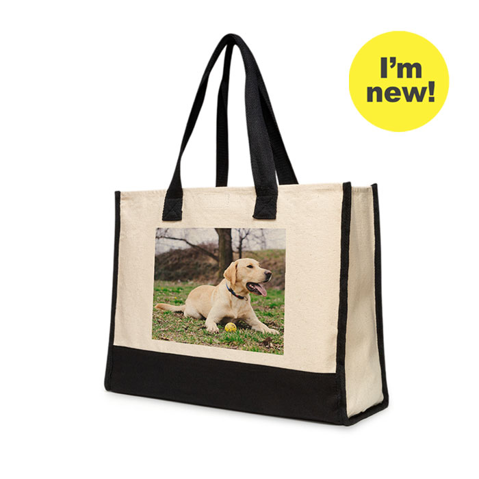 New! Large Cotton Tote
