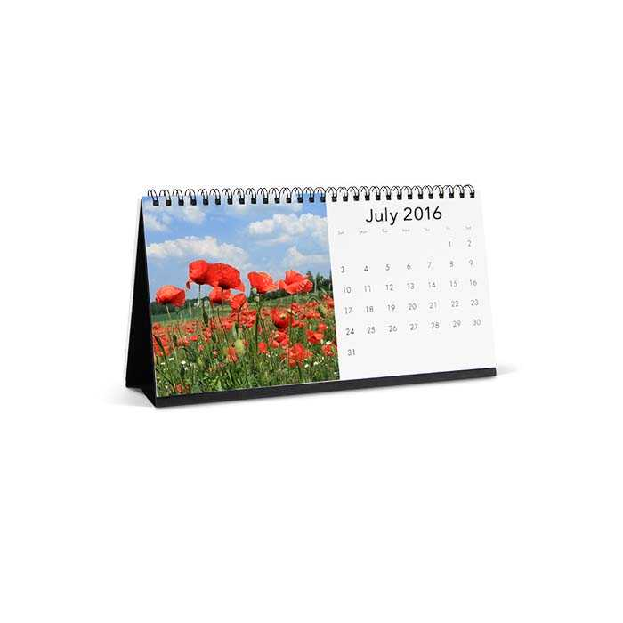 4x8 Desktop Calendar