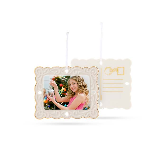Postcard Ornament
