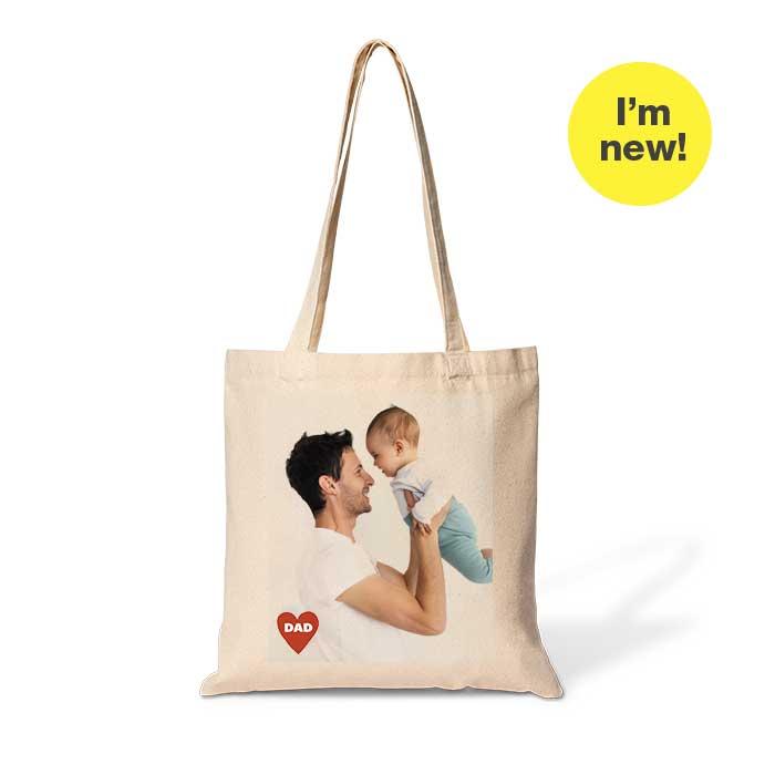 I'm new! 15x15 Cotton Tote Bag