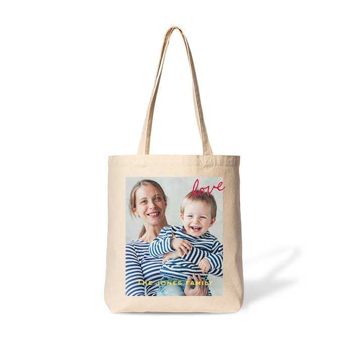 Gusseted Cotton Tote Bag