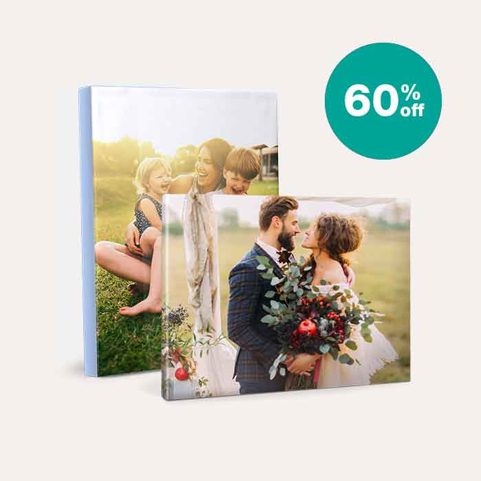 60% off Canvas Prints