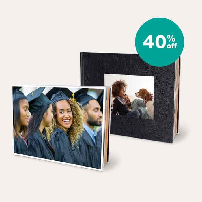 40% off Photo Books