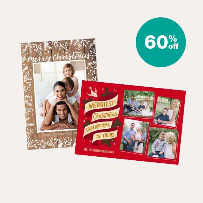 60% off Cards & Stationery