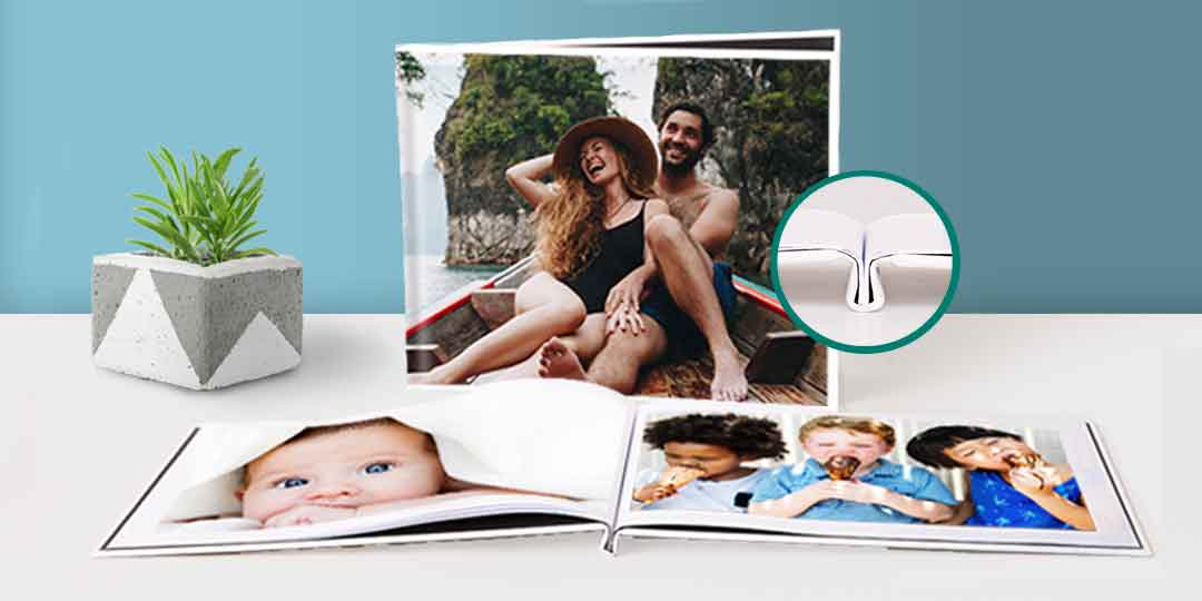 Create Same Day Pickup Layflat Photo Book