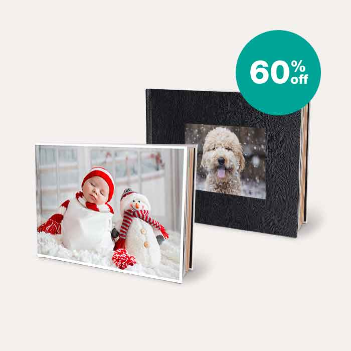 60% off Photo Books
