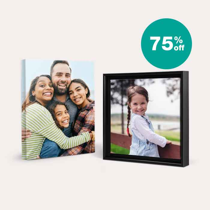 75% off Canvas