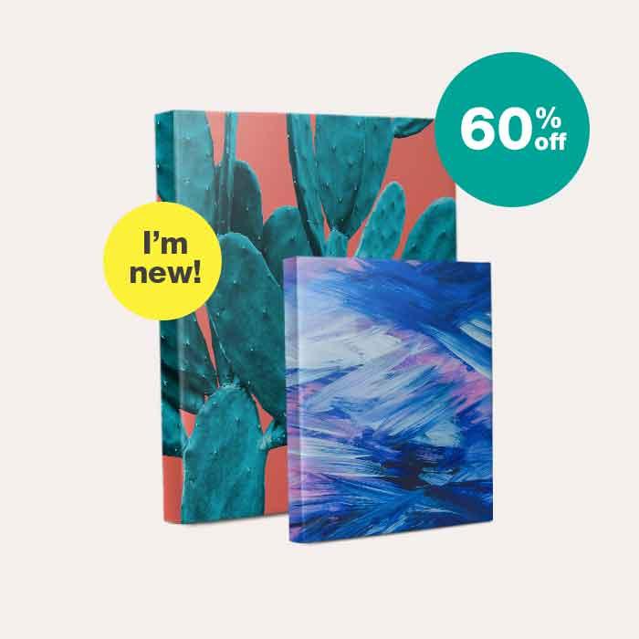 60% off Canvas Art. I'm new!