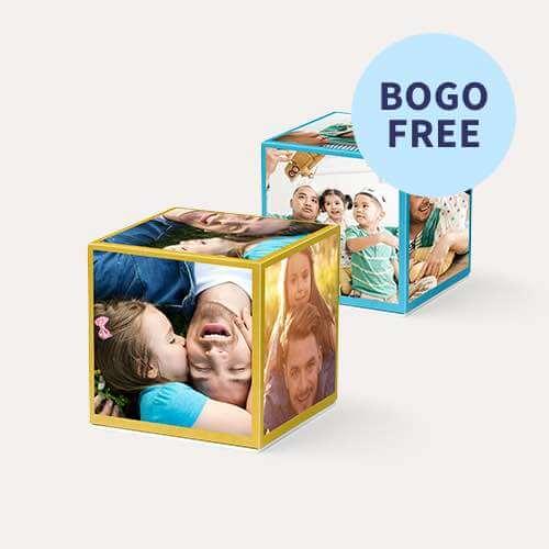 BOGO FREE Same Day Photo Cubes