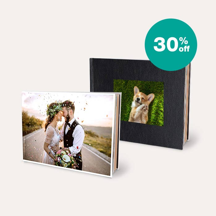 30% off Photo Books