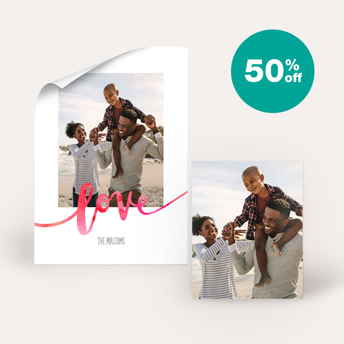 50% off Posters & Enlargements