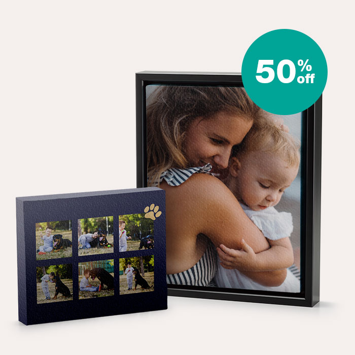 50% off Canvas