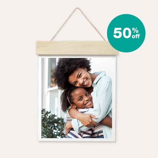 50% off Wood Hanger Board Prints