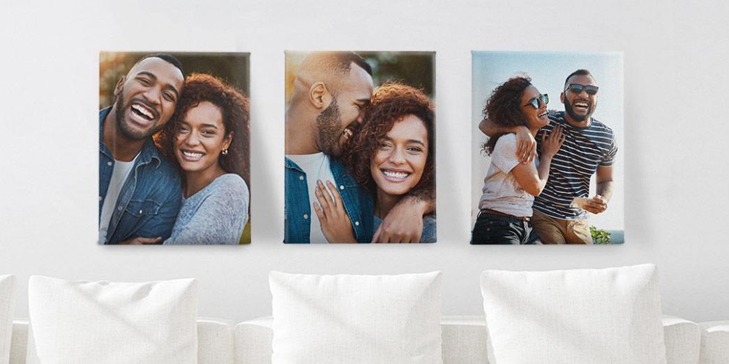 Custom sets make it easy to cover walls with joyful memories. Shop Product Sets.