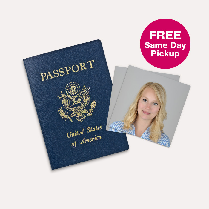 FREE Same Day Pickup Passport Photos