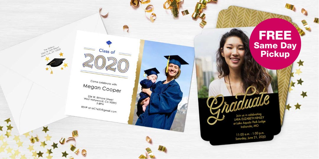 FREE Same Day Pickup. Graduation Cards