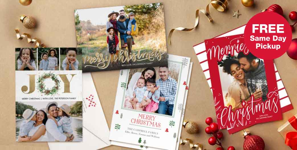 FREE Same Day Pickup. Shop Holiday 2020 Cards Collection