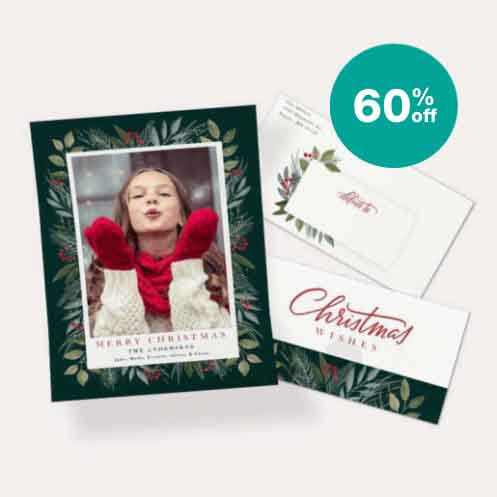 60% off NEW! Seal & Send Cards