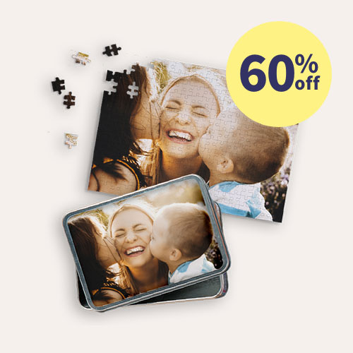 60% off Same Day 10x14 Puzzles