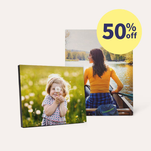50% off Metal & Wood Panels