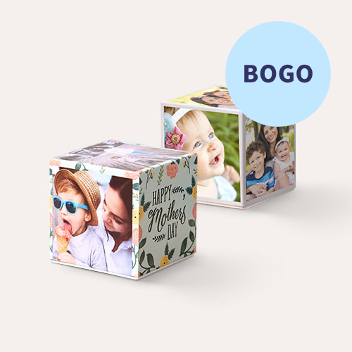 BOGO Same Day Photo Cubes
