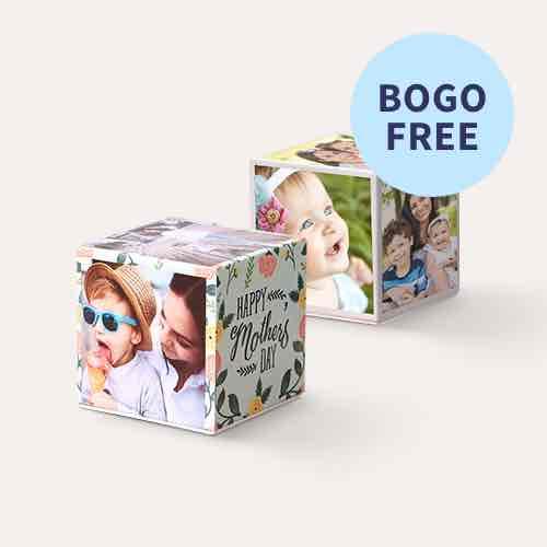 BOGO Same Day Photo Cubes