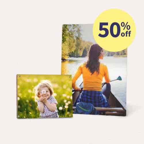 50% off Metal & Wood Panels