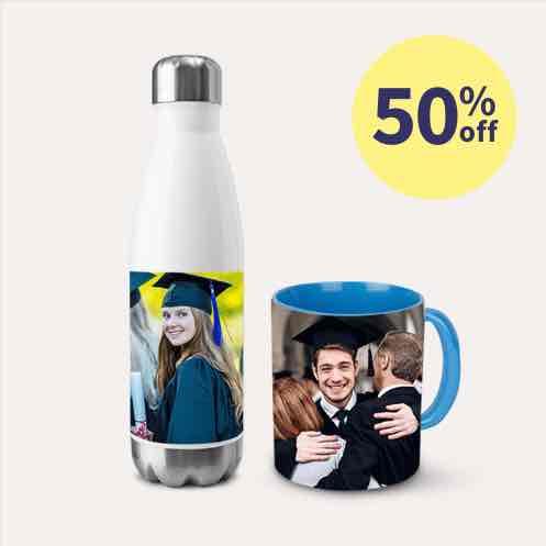 50% off Mugs & Drinkware