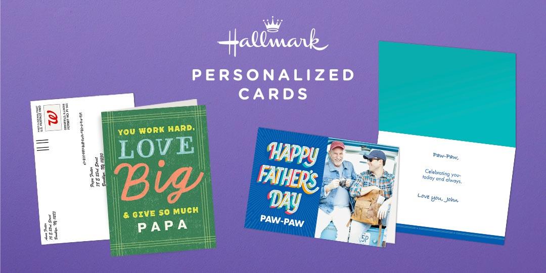 Hallmark Personalized Cards
