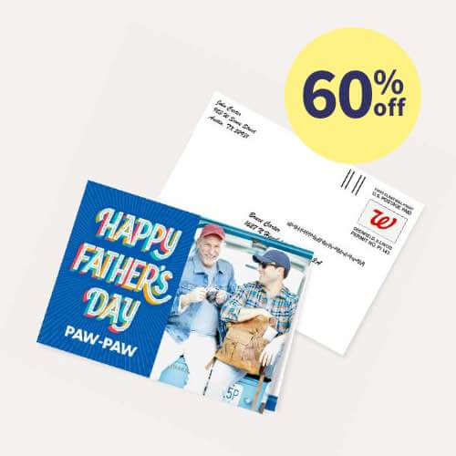 60% off Hallmark Personalized Cards