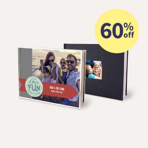 60% off Same Day Layflat Photo Books